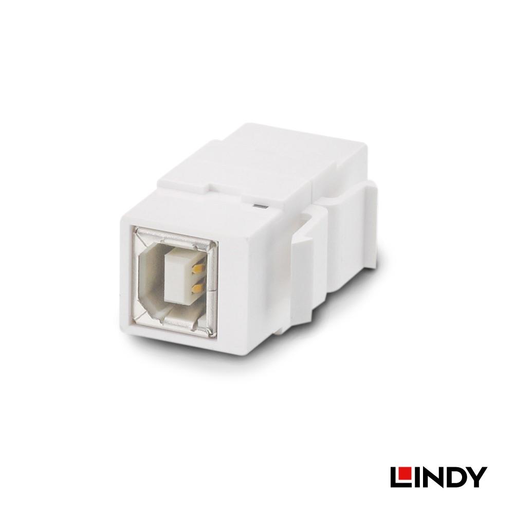 60554 - USB2.0 Type B/母 to Type B/母模組/模塊Keystone