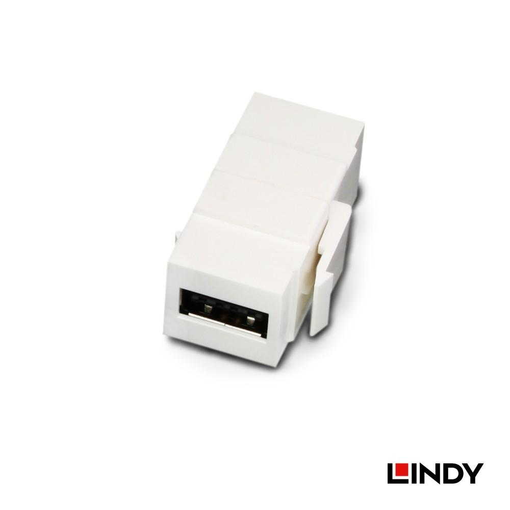 60583 - USB2.0 Type A/母 to Type A/母 雙面插拔 模組/模塊Keystone