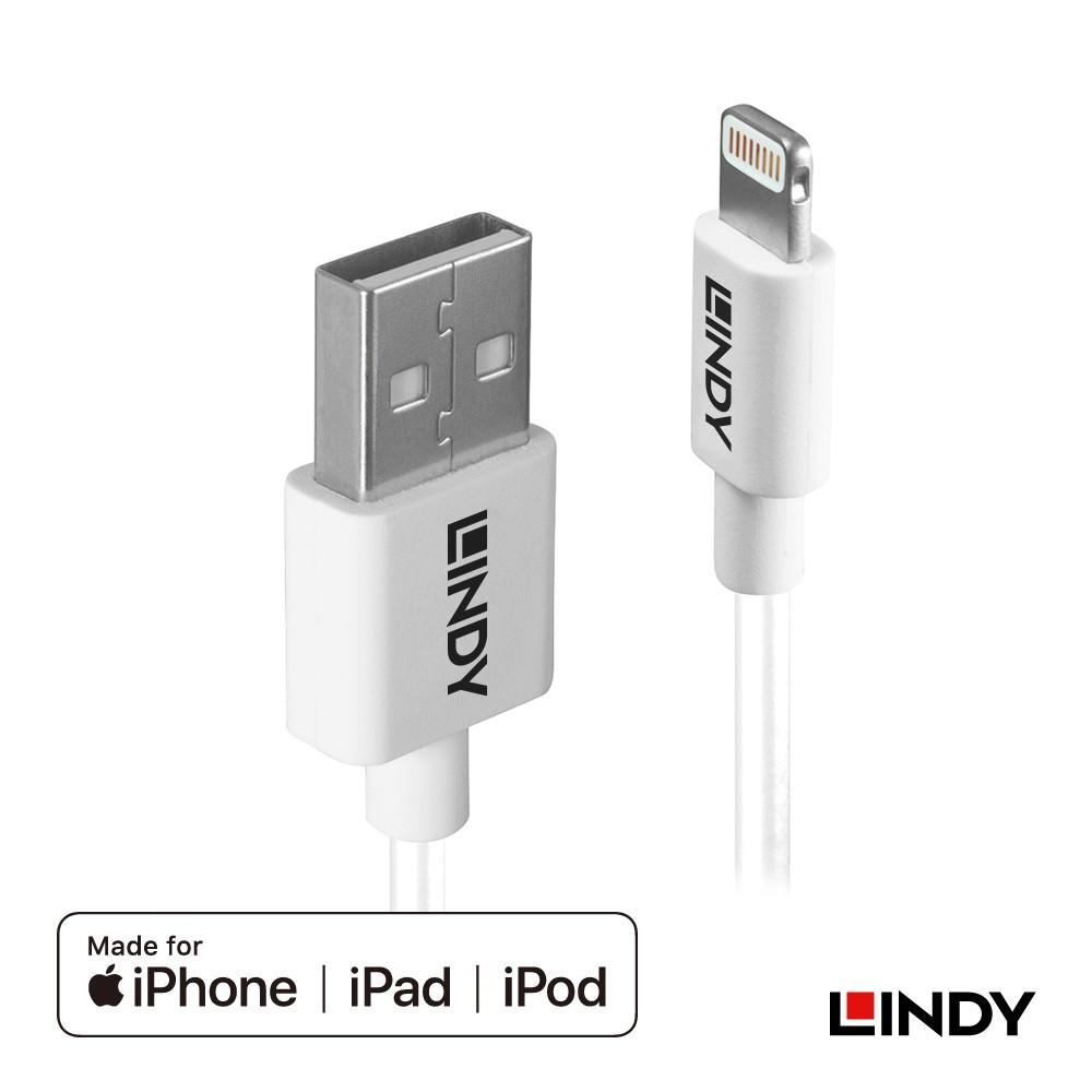 92026_A - Apple認證USB Type-A to Lightning (8pin)傳輸線, 2m