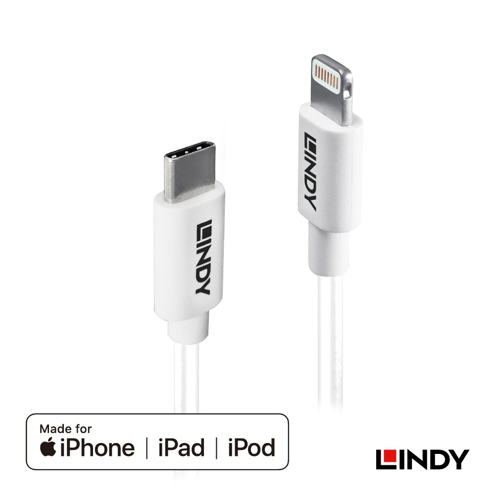 92028_A - Apple認證USB Type-C to Lightning (8pin)傳輸線, 2m