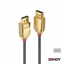 36290 - GOLD LINE DisplayPort 1.4版 公 to 公 傳輸線 0.5m