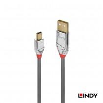 36634 - CROMO LINE USB2.0 Type-A/公 to Mini-B/公 傳輸線 5m