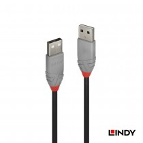36690 - ANTHRA LINE USB2.0 Type-A 公 to 公 傳輸線 傳輸線  0.2m