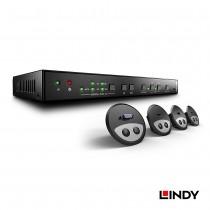 38282 - HDMI多介面簡報切換器含桌上型整合圓孔組