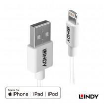 92025_A - Apple認證USB Type-A to Lightning (8pin)傳輸線, 1m